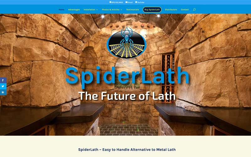 SpiderLath – New Website
