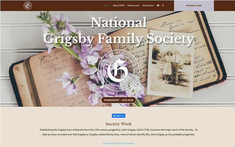 National Grigsby Family Society