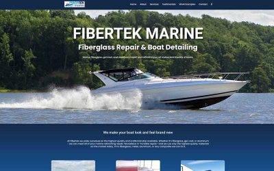 New Website – FiberTek Marine