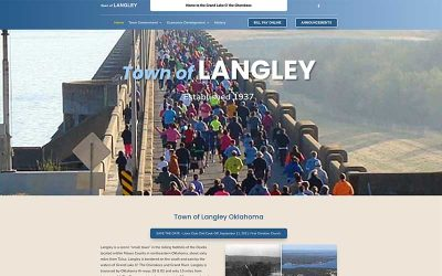 New Website – Town of Langley OK